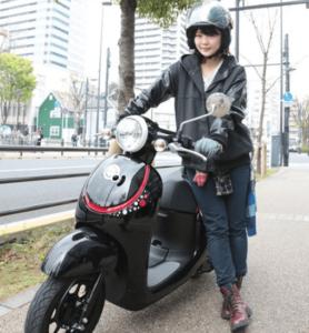 バイク雑誌の撮影