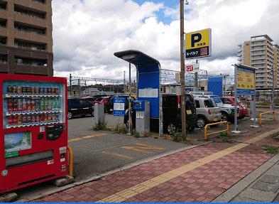 ル・パルク秋田駅前駐車場-