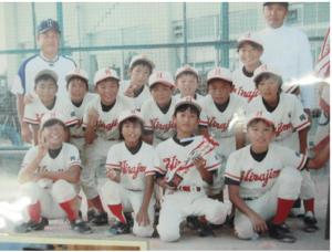 ソフトボール時代の渋野日向子選手