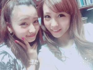 宇谷美緒さんとお姉さん