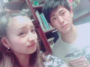 宇谷美緒さんと弟さん