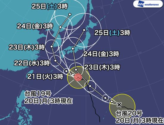 2018W台風