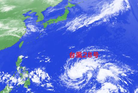 台風28号